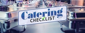 Catering Supplies Checklist