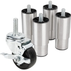 Casters, Legs, and Stands for Refrigeration Equipment