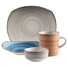 Corona by GET Enterprises Artisan Porcelain Dinnerware