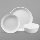 Elite Global Solutions Santorini White Melamine Dinnerware