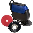 Floor Scrubbers, Auto Scrubbers and Accessories