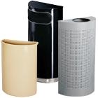 Half Round Trash Cans