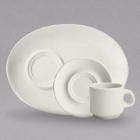 Homer Laughlin by Steelite International Cafe Robusta Ivory (American White) China Dinnerware