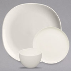 Homer Laughlin by Steelite International Nadia Ivory (American White) China Dinnerware