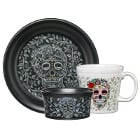 Fiesta Tableware from Steelite International Skull and Vine China Dinnerware