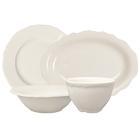 Homer Laughlin Carolyn Ivory (American White) China Dinnerware