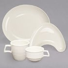 Homer Laughlin by Steelite International Flipside Ivory (American White) China Dinnerware