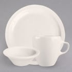 Homer Laughlin by Steelite International Narrow Rim Ivory China Dinnerware