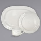 International Tableware Newport Ivory (American White) Stoneware Dinnerware