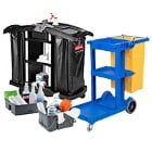 Janitorial / Cleaning Carts and Caddies