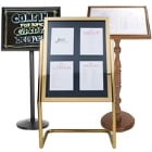 Sign Frames & Menu Stands
