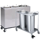 Mobile Unheated Plate and Dish Dispensers