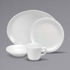 Buffalo Cream White Ware Porcelain Dinnerware by Oneida