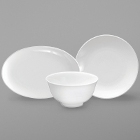 Sant'Andrea Cato White Bone China Dinnerware by Oneida