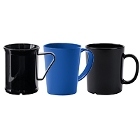 Plastic Coffee Mugs and Cappuccino Cups