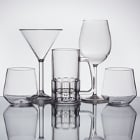 Reusable Plastic Barware and Dessert Shot Glasses