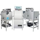 Single Rack Dishwashers and Double Rack Dishwashers
