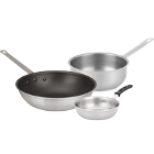 Stainless Steel and Aluminum Sauciers