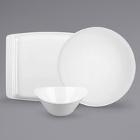 Syracuse China Chef's Selection Aluma White Porcelain Dinnerware