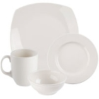 Syracuse China Flint Ivory (American White) Porcelain Dinnerware