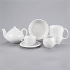 Syracuse China Reflections Aluma White Porcelain Dinnerware