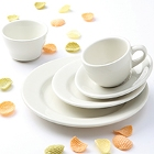 Tuxton Reno / Nevada Ivory (American White) China Dinnerware