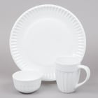 World Tableware Cookout Bright White Porcelain Dinnerware