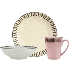 World Tableware Dulcet Colorful Stoneware Dinnerware
