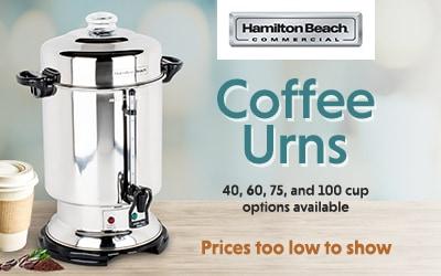 Hamilton Beach Coffee Urns