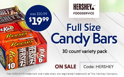 Hershey Full Size Bars