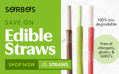 Sorbos Edible Straws