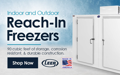 Reach-in Storage Freezers