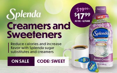 Splenda Creamers and Sweeteners