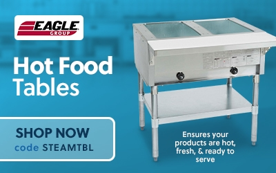 Eagle Group Hot Food Tables