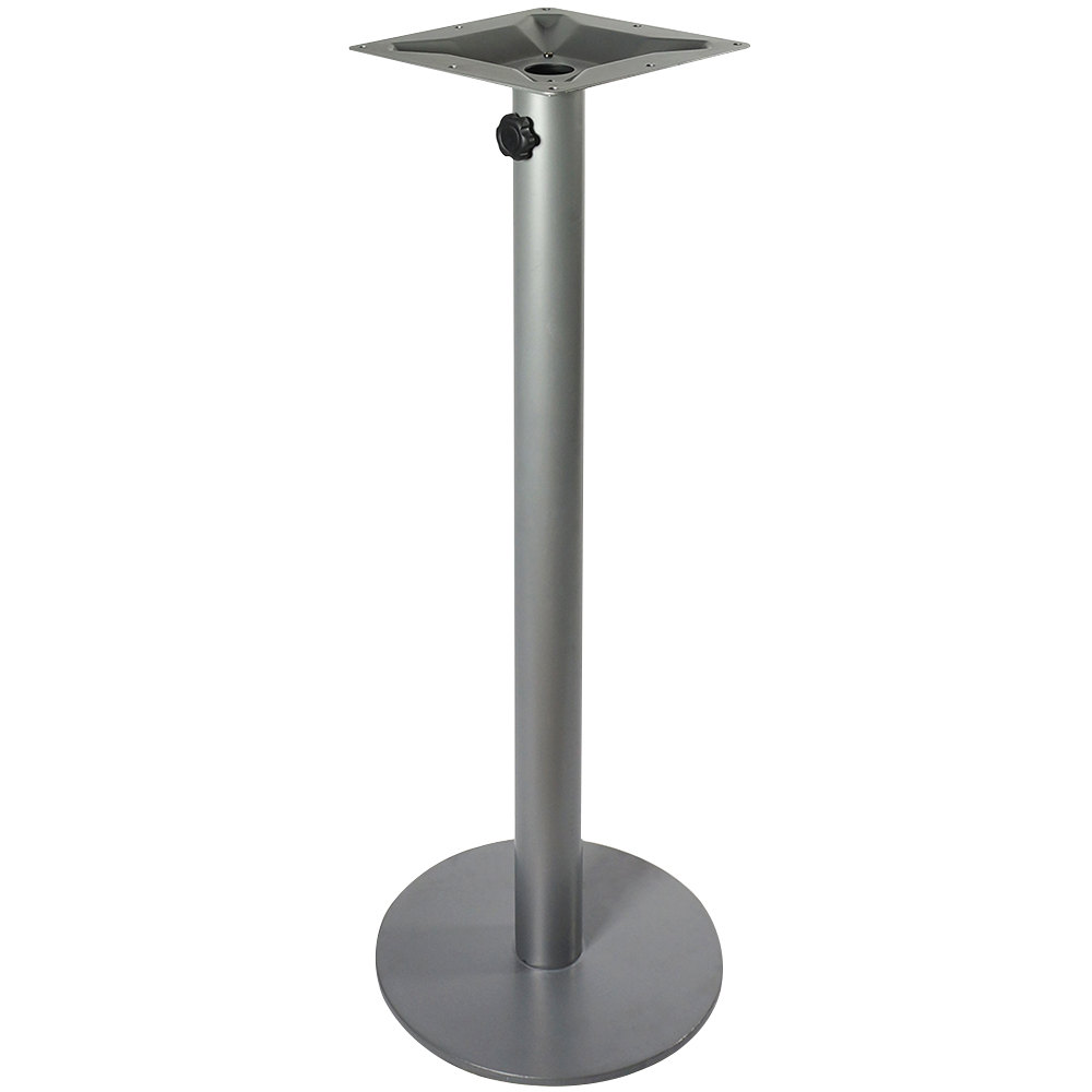 Coffee Height Round Large Table Base Round Column: BFM Seating PHTB18RSVT Margate Bar Height Outdoor / Indoor