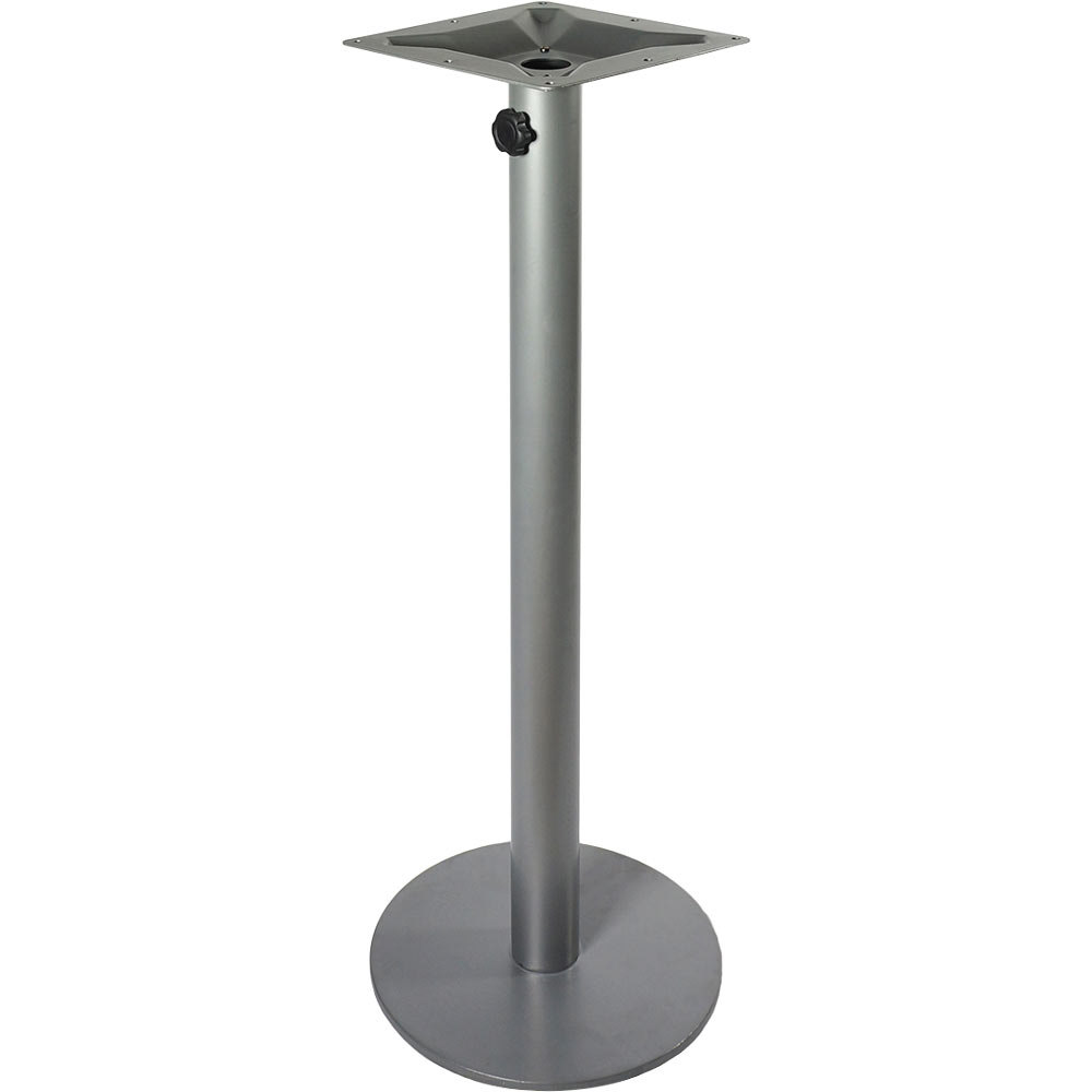... Silver Round Table Base With. Main Picture