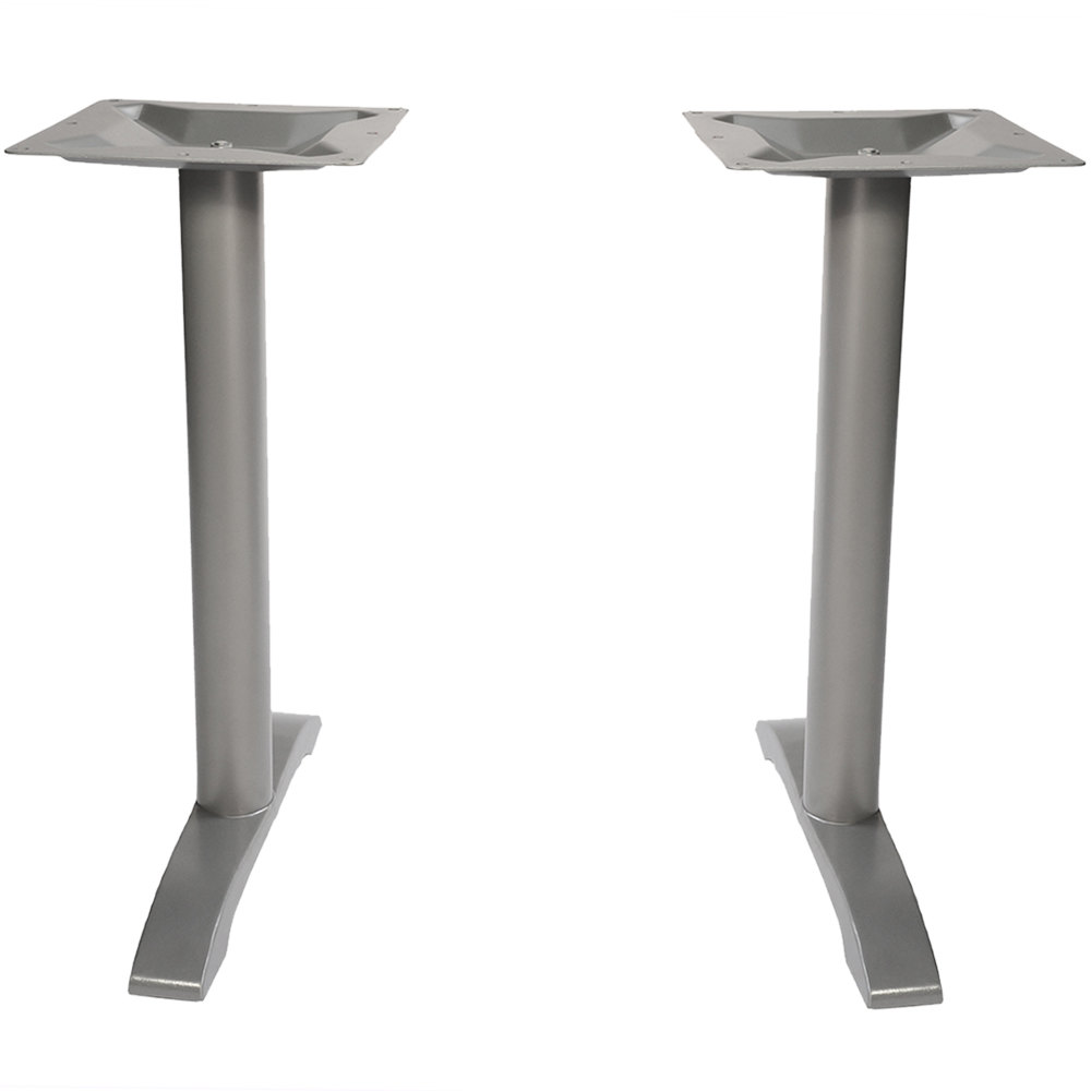 bfm seating phtb0022sv margate outdoor indoor standard height silver end table base set. Black Bedroom Furniture Sets. Home Design Ideas