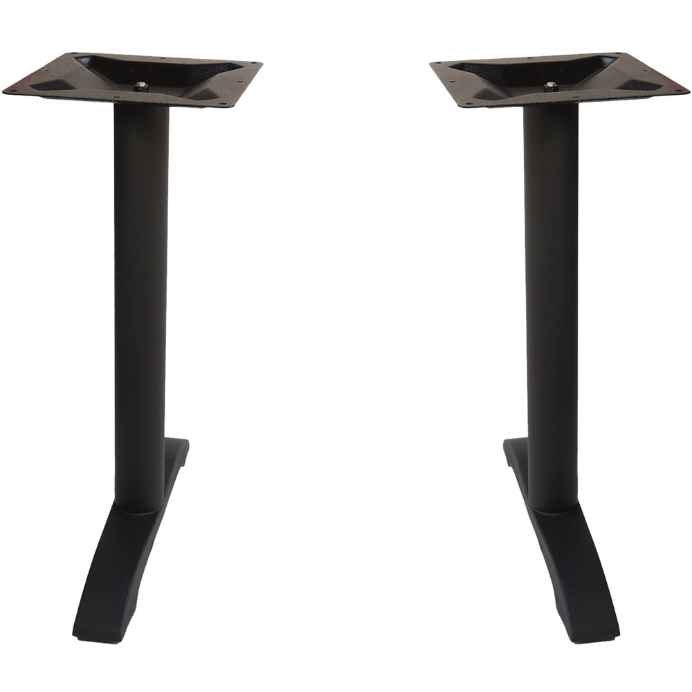 bfm seating phtb0022bl margate outdoor indoor standard height black end table base set. Black Bedroom Furniture Sets. Home Design Ideas