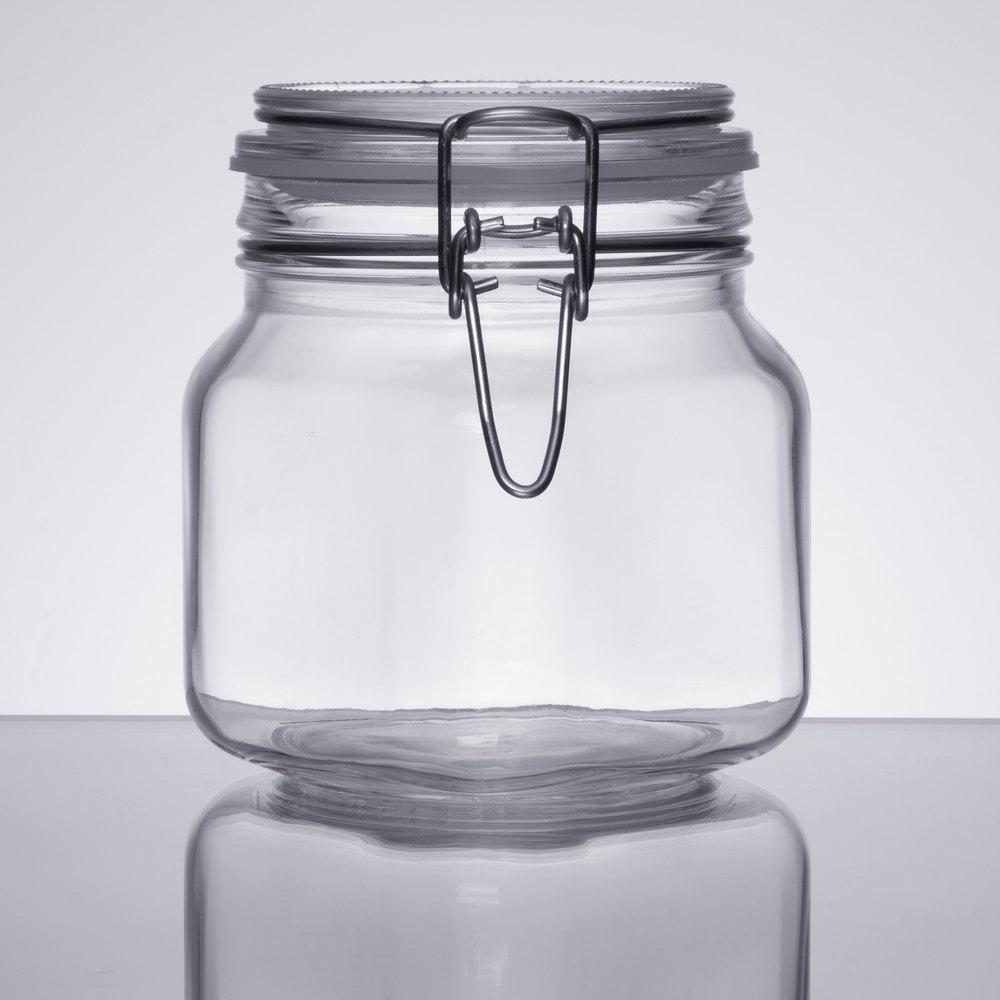 Libbey 17209925 2525 Oz Garden Jar With Clamp Lid 6case