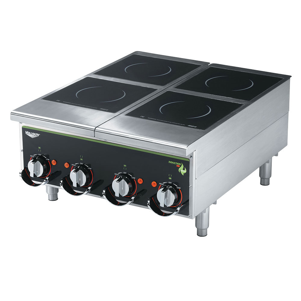 Vollrath Induction Cooker ~ Vollrath himc cayenne four hob heavy duty induction hot