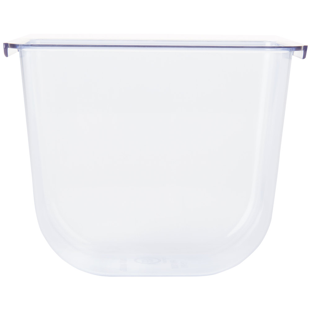 San Jamar BD102 The Dome Replacement Tray for Domed Caddy 1.5 Pint