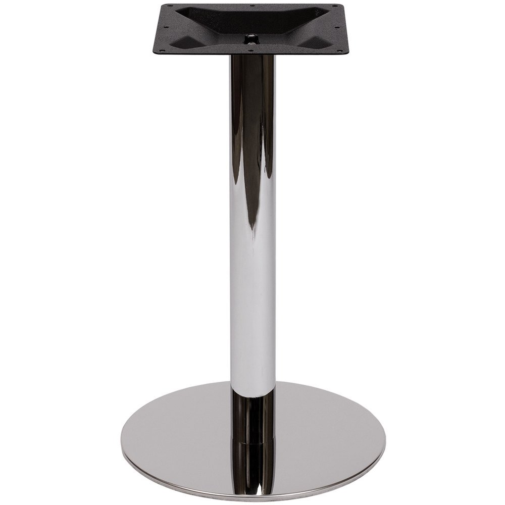 seating phtbrch adele standard height indoor  chrome round  - bfm seating phtbrch adele standard height indoor  chrome round tablebase