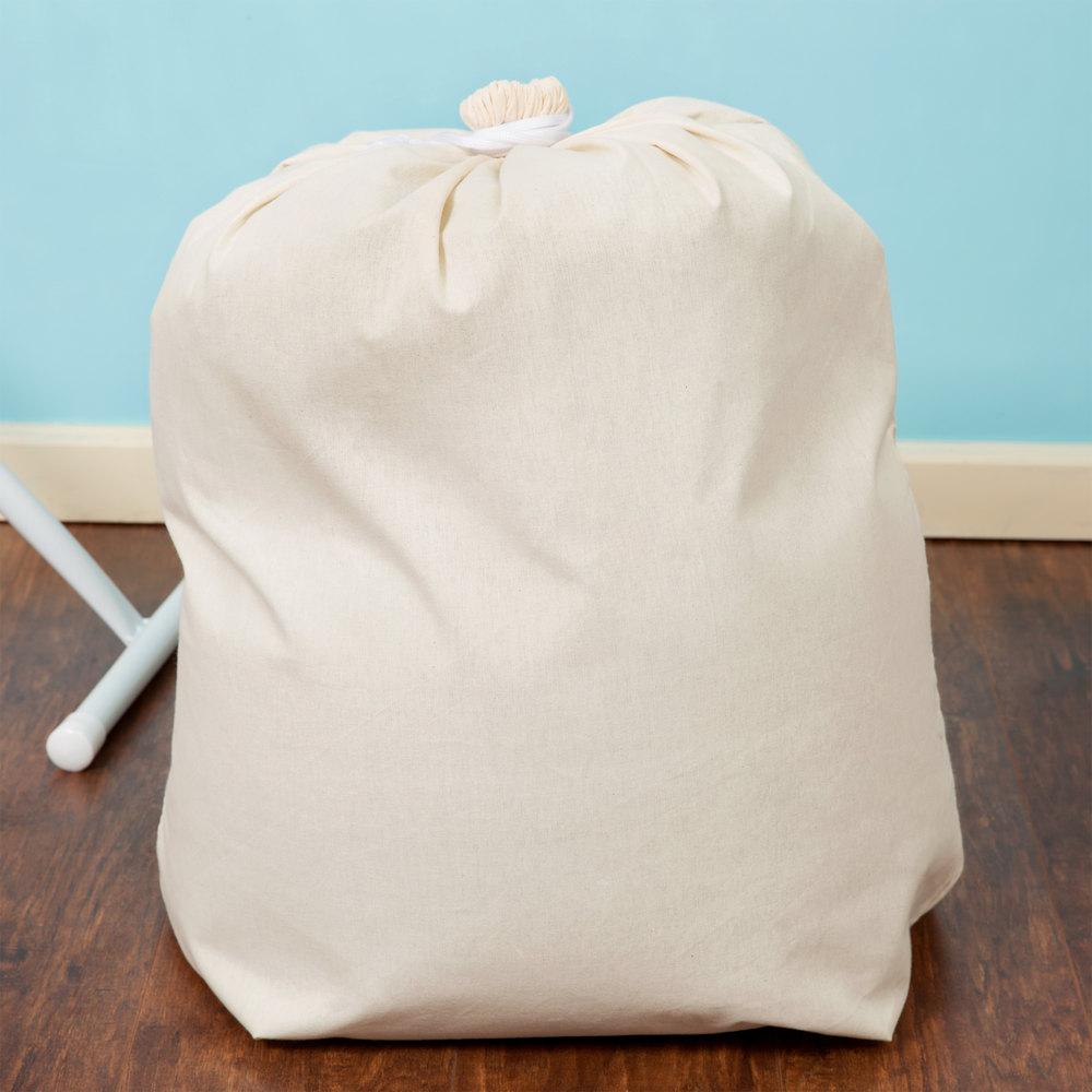 28 Quot X 36 Quot Cotton Laundry Bag With Drawstring