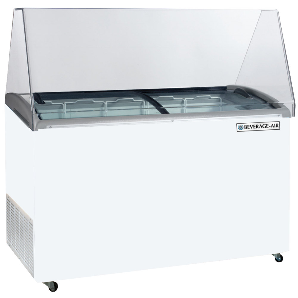 "Beverage Air BDC-12 68"" Ice Cream Dipping Cabinet"