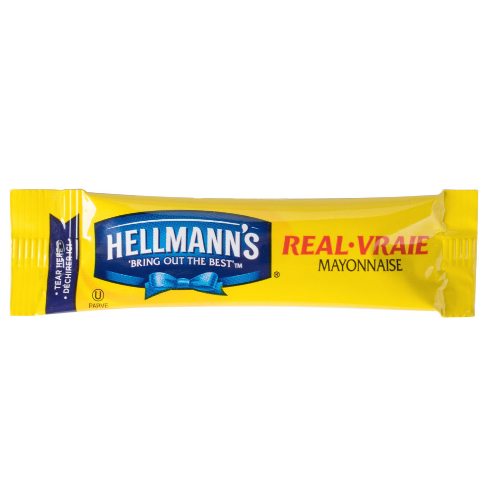 Hellmann S Mayonnaise 10 6 Gram Portion Packet 210 Case