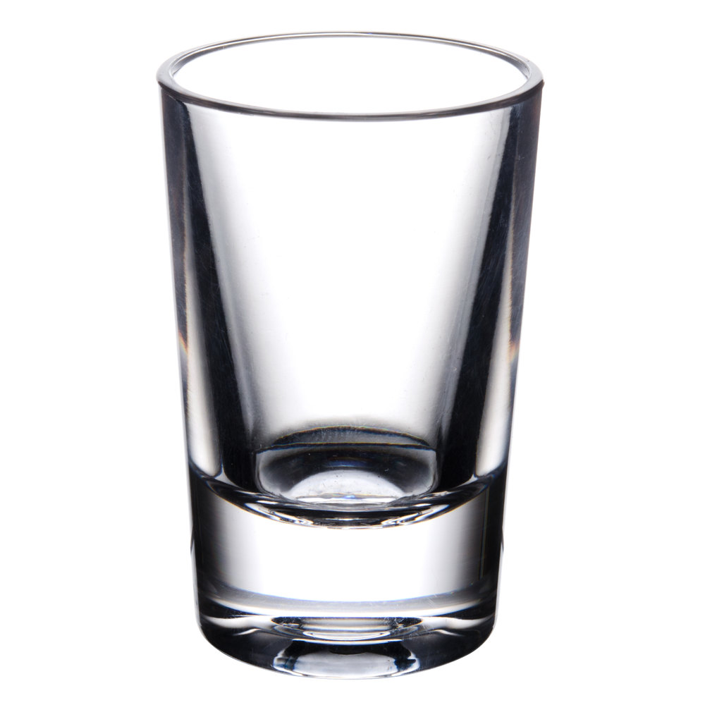 1 oz polycarbonate shot glass. Black Bedroom Furniture Sets. Home Design Ideas