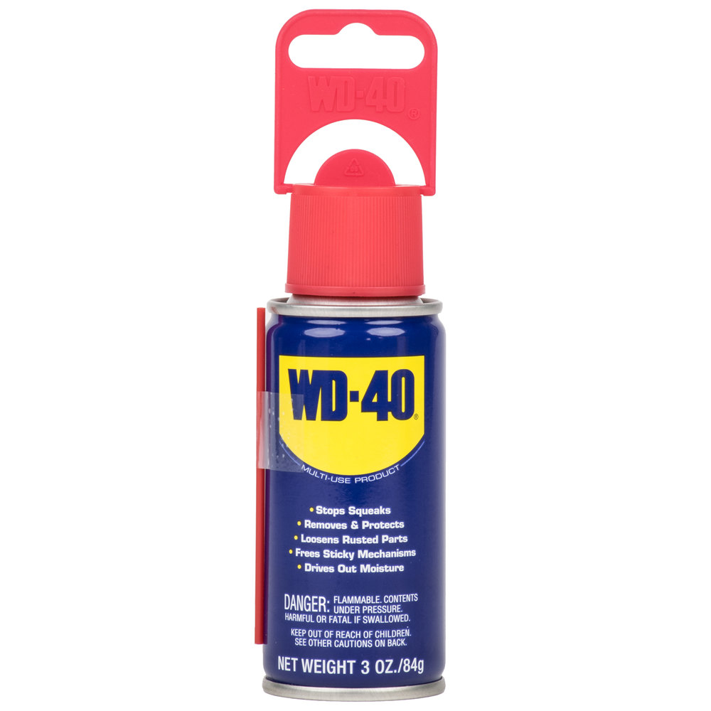 wd 40 3 oz handy can spray lubricant 12 case. Black Bedroom Furniture Sets. Home Design Ideas