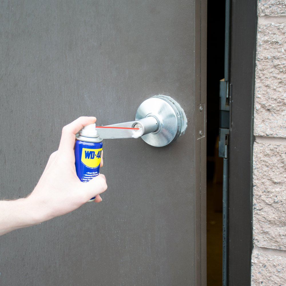 WD-40 3 oz. Handy Can Spray Lubricant - 12/Case
