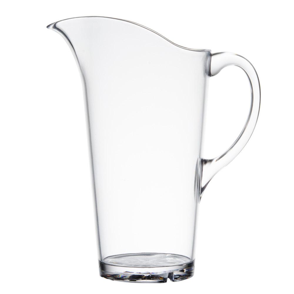 51 oz polycarbonate water pitcher. Black Bedroom Furniture Sets. Home Design Ideas