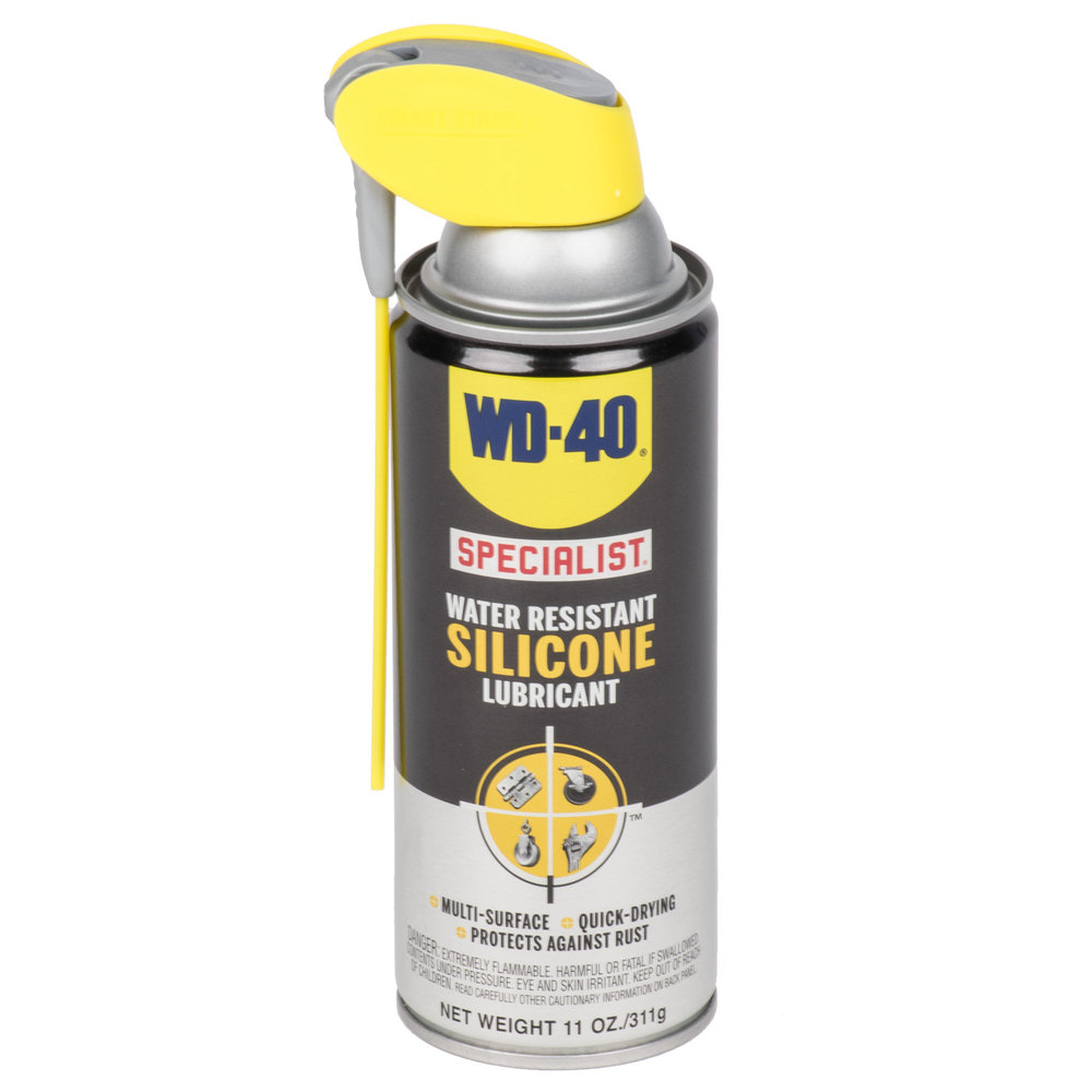 wd 40 specialist 11 oz water resistant silicone lubricant spray with smart straw. Black Bedroom Furniture Sets. Home Design Ideas